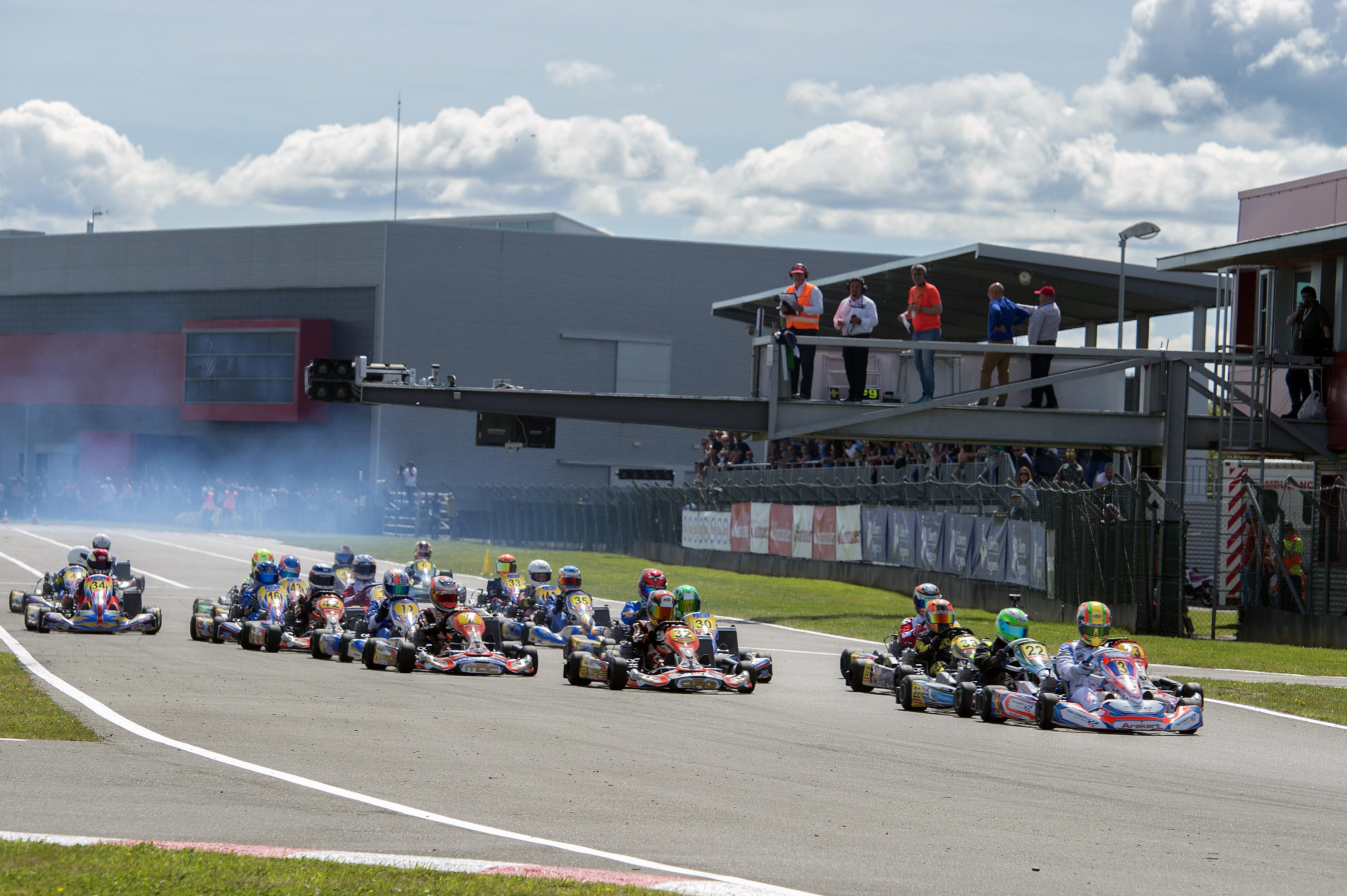 Circuito Fernando Alonso Oviedo : Campeonato de españa de karting prueba circuito fernando