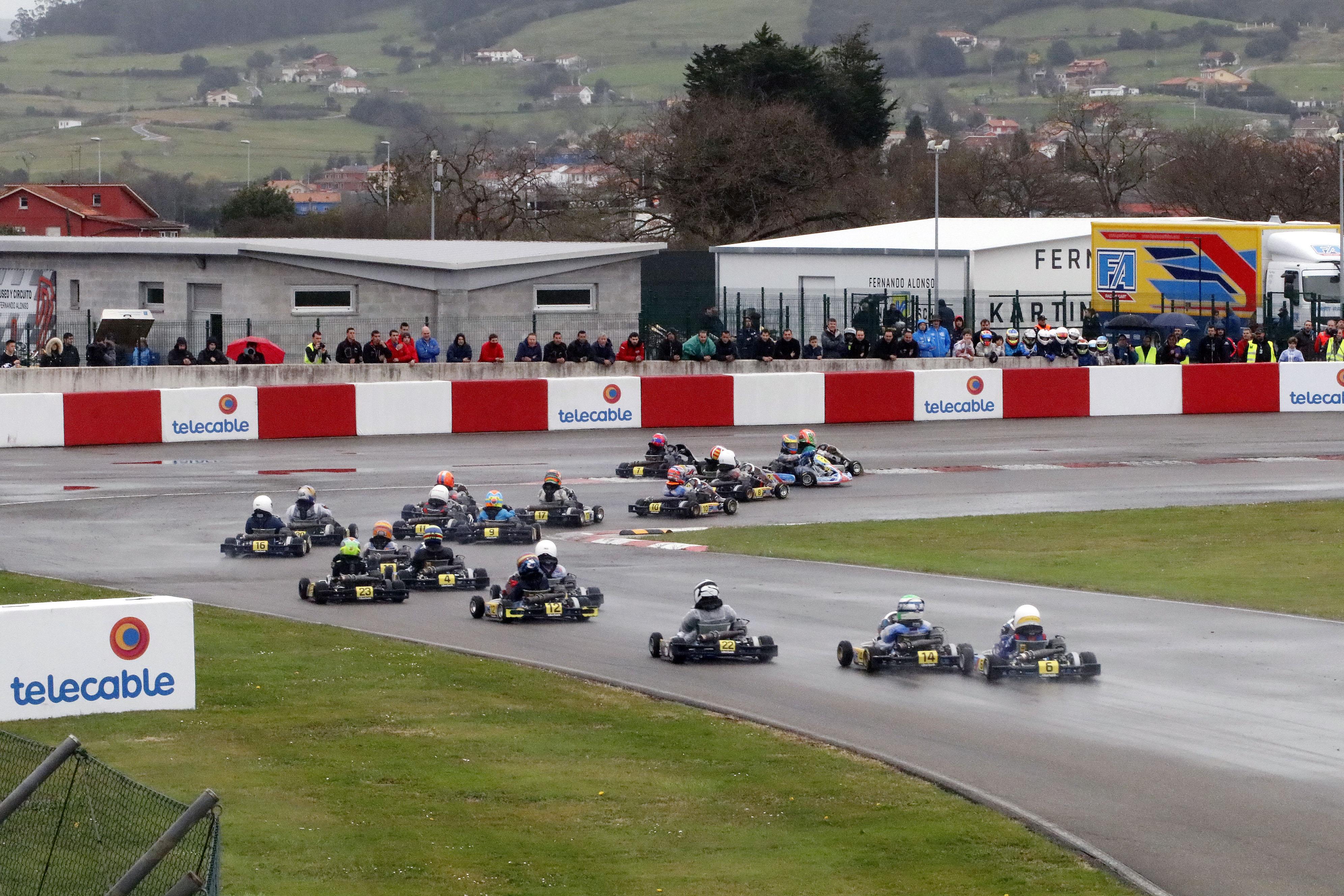 Circuito Fernando Alonso Posada : Museo y circuito fernando alonso race track llanera asturias